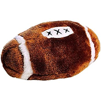 Ethical Plush Football Dog Toy, 4-1/2-Inch