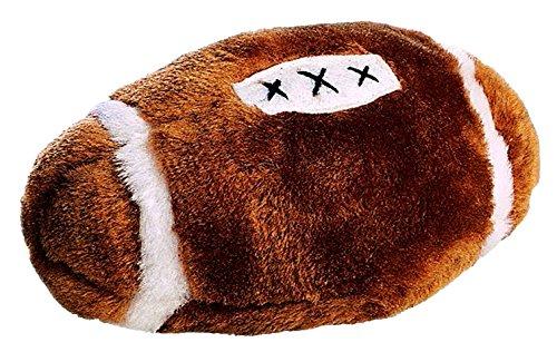 - Ethical Plush Football Dog Toy, 4-1/2-Inch