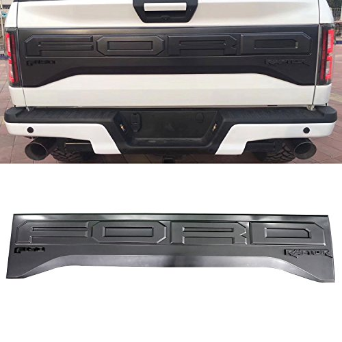 Trim Tailgate Panel (Vakker Ford F150 Raptor Tail Gate Applique Rear Trim Panel - Compatible with Ford 2015-17)