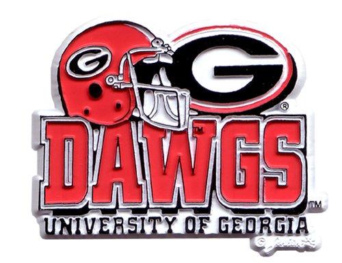 NCAA Georgia Bulldogs 2D Helmet Magnet (Bulldog Helmet)