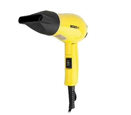 58820 Secador de pelo plegable DICTROLUX con 2 tipos de difusores (600W) - Amarillo