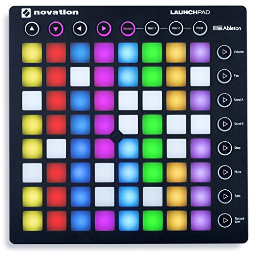 Novation Launchpad Ableton Live Controller with 64 RGB Backlit Pads (8x8 Grid) (Best Ableton Live 9 Tutorials)