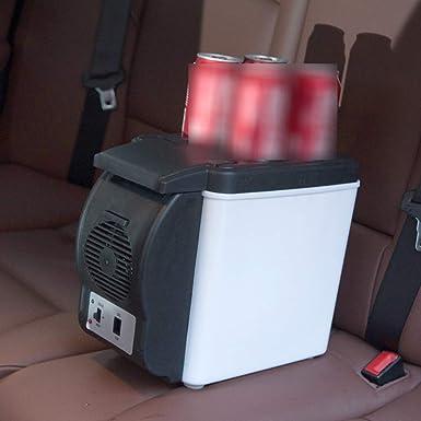 Portátil DC 12V Mini 6L Refrigerador de coches Nevera de viaje ...