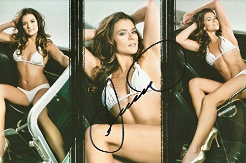 Danica Patrick SEXY SPORTS ILLUSTRATED SWIMSUIT Signed 4x6 Photo #1 - Autographed NASCAR Magazines