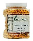Cheddar Whale Crackers - 1.25 Lb Tub