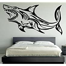 NEW Cool Wall Decals Shark Decor for Your Home Vinyl Stickers MK0043