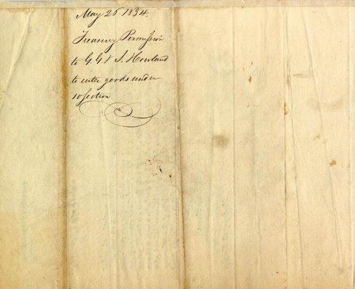 Chief Justice Roger B. Taney Document Signed 05/26/1834