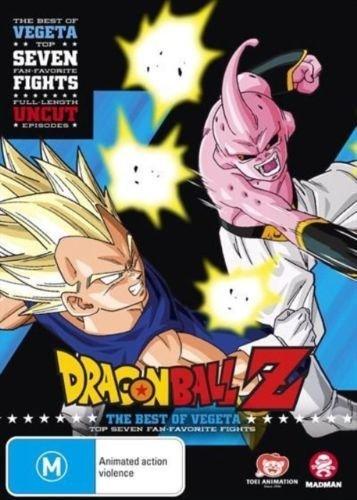Dragon Ball Z Best of Vegeta   Anime & Manga   NON-USA Format   PAL   Region 4 Import - Australia (Dbz Best Of Vegeta)