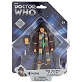 """Doctor Who 4th Doctor - Tom Baker Fourth Doctor Action Figure - 5"""""""
