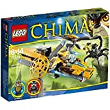 Lego Chima Lavertus' Twin Blade, Multi Color