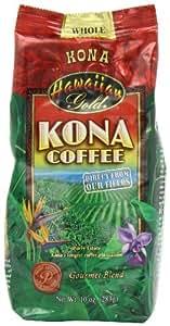 Hawaiian oro Kona grano Coffeee, 10 - Ounce (paquete de 3) camerainn, jardín, césped, Mantenimiento