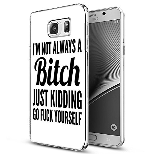 Note 8 Case Samsung Galaxy Note 8 Case (2017) Viwell Soft Case Rubber Silicone Im Not Always A Bitch Just Kidding Go Fuck Yourself