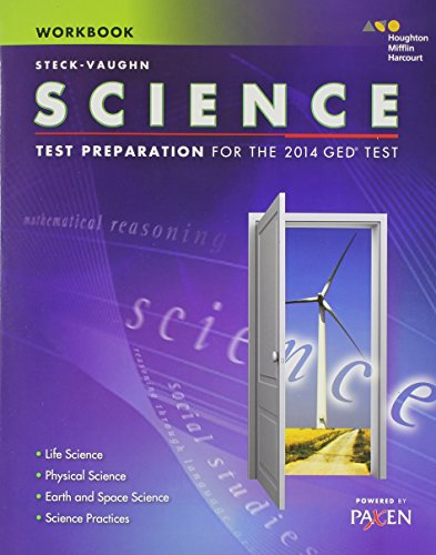 Steck-Vaughn GED: Test Preparation Student Workbook Science