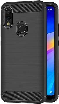 Coovertify Funda Fibra de Carbono Negra Xiaomi Redmi Note 7 ...