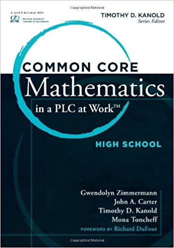 Common Core Mathematics In A PLC At Work High