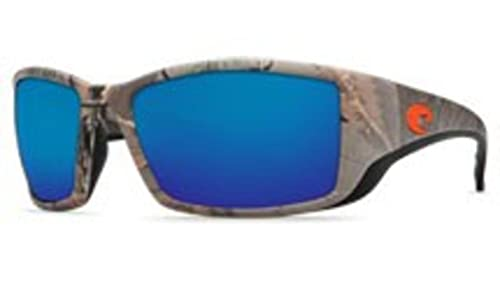 347e78b94 Costa Del Mar Blackfin Sunglasses - RealTree Xtra Camo Frame - Blue Mirror  580G Lens