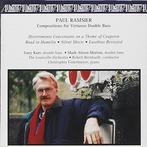 UPC 034061023722, Music for Double Bass / Divertimento Concertante