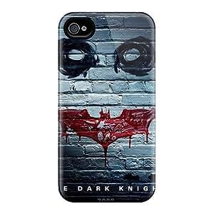 Defender Case For Iphone 4/4s, Batman The Dark Knight Pattern