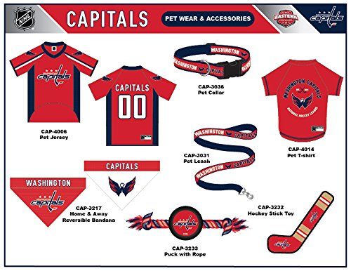 Pets First NHL Washington Capitals Leash for Dogs /& Cats The Ultimate Hockey Fan Leash! Large - Walk Cute /& Stylish