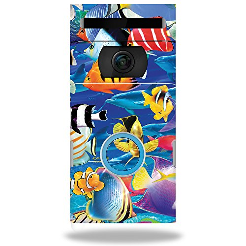 MightySkins Skin Compatible with Ring Doorbell 2 - Tropical Fish | Protective, Durable, and Unique Vinyl Decal wrap Cover | Easy to Apply, Remove, and Change Styles | Made in The USA