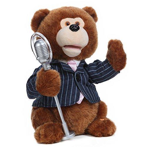 Nika International Mr. Benny Animated Singing Stuffed Plush Toy by Nika International