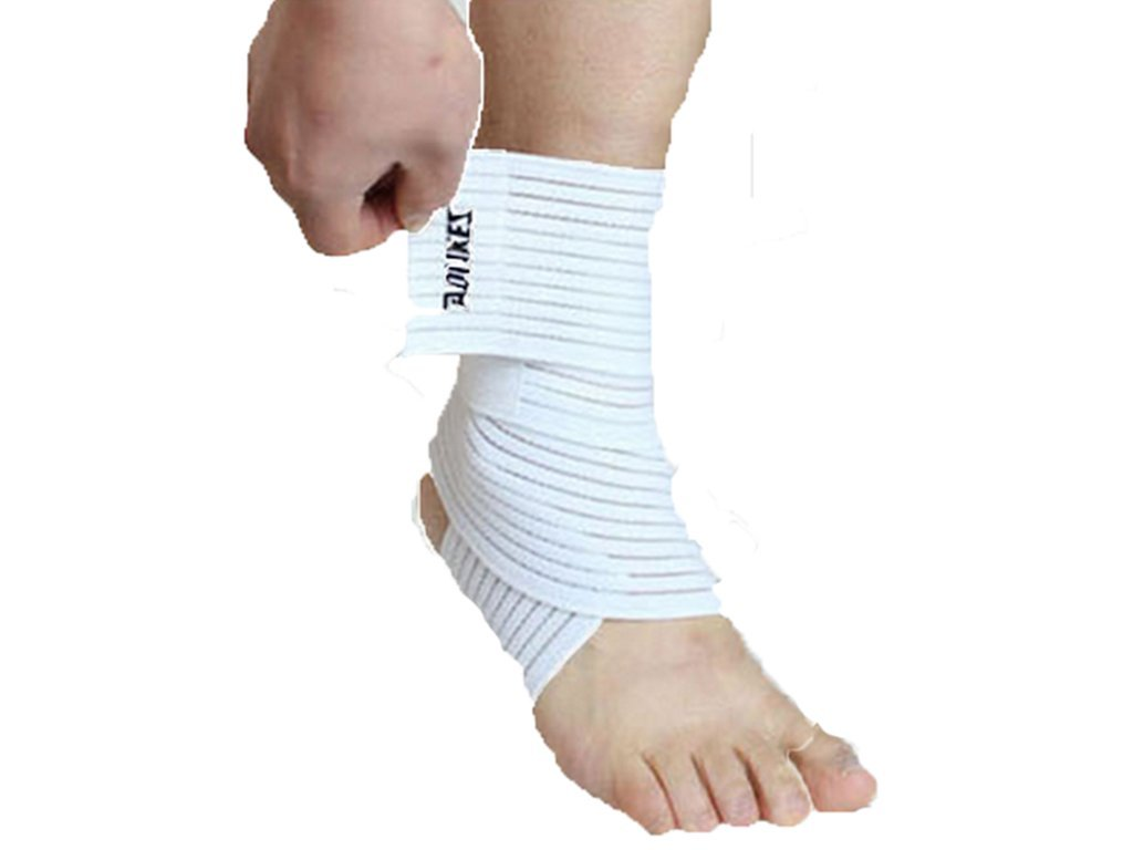 Aogolouk 1pcs Ankle Bandage Elastic Ankle Brace Outdoor Sports Sprain Ankle Protection Brace