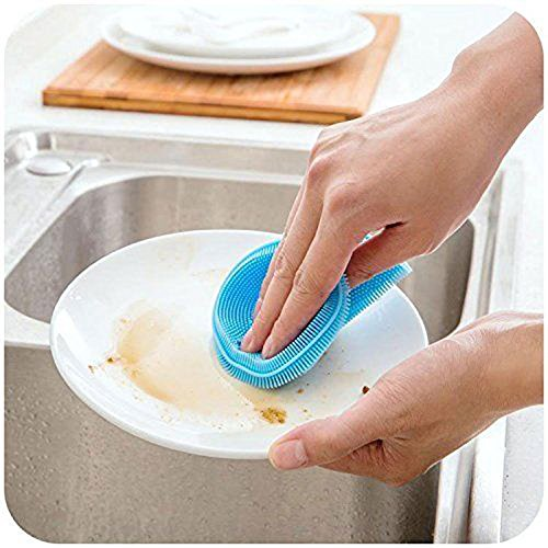 antibacterial-brush-practical-silicone-dish-washing-sponge-scrubbers-scrubber-sponge-brush-for-dishw