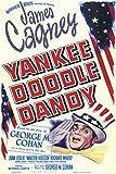 Yankee Doodle Dandy, James Cagney, Movie, Poster Art, Souvenir Magnet 2 x 3 Fridge Magnet
