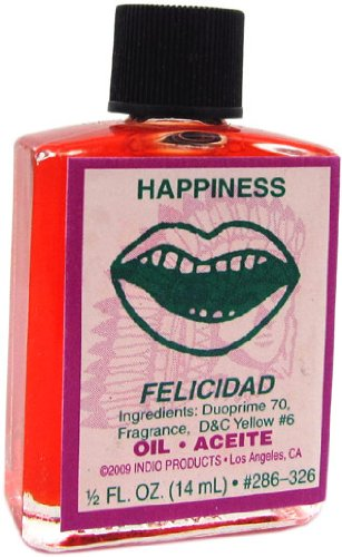 Indio Products Happiness Oil 1/2 fl. oz.