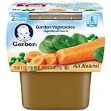 gerber baby food case of 8 - Gerber 2nd Foods Garden Vegetable Baby Food, 8 Ounce - 8 per case.