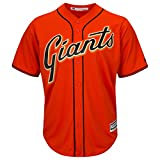 San Francisco Giants Blank Orange Toddler Cool Base Alternate Replica Jersey