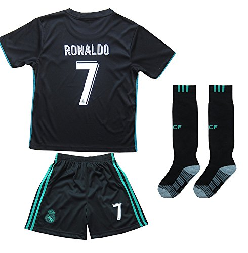 639ef1169 2016 2017 REAL MADRID  7 RONALDO KIDS AWAY SOCCER JERSEY   SHORTS YOUTH  SIZES (6-7 YEARS OLD) - Buy Online in KSA. Misc. products in Saudi Arabia.