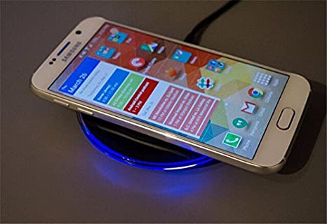 Amazon.com : Mobile phone qi wireless charger charging pad ...