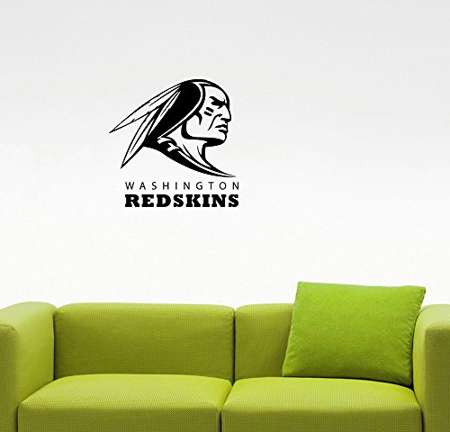 Washington Redskins Room Nfl Locker (NFL Washington Redskins Emblem Wall Sticker American Football Team Logo Vinyl Decal Home Interior Decorations Extreme Sports Sign Art Locker Room Bedroom Decor 2wr (22