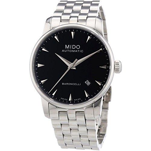 Mido Men's MIDO-M86004181 Baroncelli Analog Display Swiss Automatic Silver Watch
