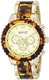 August Steiner Women's AS8093YG Analog Display Swiss Quartz Gold Watch