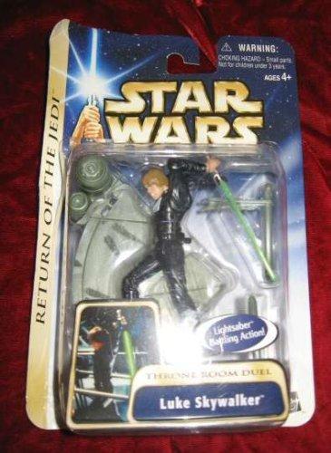 Star Wars AOTC Saga Luke Skywalker Throne Room Duel