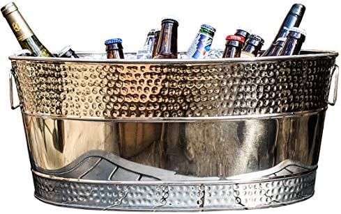 BREKX Hammered Stainless Beverage Chiller product image