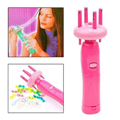 CkeyiN Hair styling tools Head Braider Automatically Braid Machine Hemp Flowers Hair Braider Twist Braid Maker, Electronic Twist Braid Maker Hair braider Device Kit