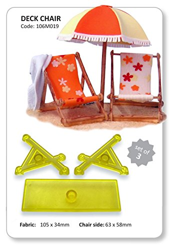 3-D Deck Chair Set of 3 by JEM by JEM Cutters