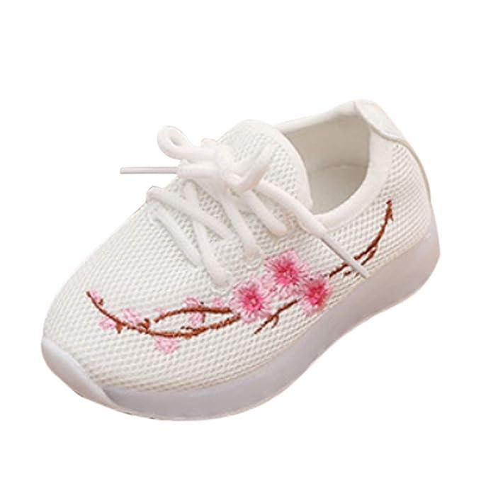 Scarpe LED Scarpe con Luci Bambino Bambini Scarpe Lampeggiante Ragazzi Ragazze  Scarpe Sportive Sneakers Bambina Bimba 6e887712a7c