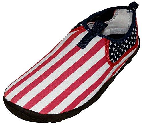 aquatiques homme des Usa pour Drapeau The Wave Chaussures qAEwqIB