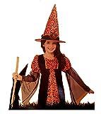 Girls Cute Witch Halloween Costume Size Medium (8-10)