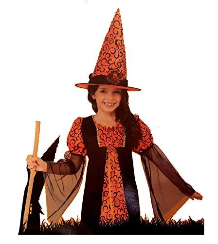 [Girls Cute Witch Halloween Costume Size Medium (8-10)] (Walgreens Halloween Costumes)
