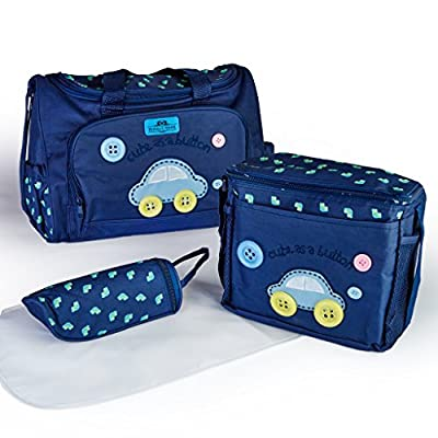 Diaper Bag backpack Organiser skip hop bags for girls and boys, insert  jujube handbag style diaper bag includes accessories baby change mat anchor arrows, arm and hammer animals