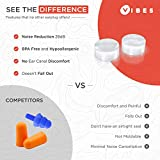 Silicone Ear Plugs - 6 Pairs Vibes Reusable