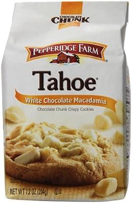 Amazon Com Pepperidge Farm Chocolate Chunk Crispy Cookies Tahoe White Chocolate Macadamia 7 2 Ounce Bag Pack Of 4 Packaged Chocolate Chip Snack Cookies Grocery Gourmet Food