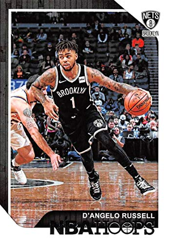 2018-19 NBA Hoops Basketball #98 D'Angelo Russell Brooklyn Nets Official Trading Card made by Panini ()