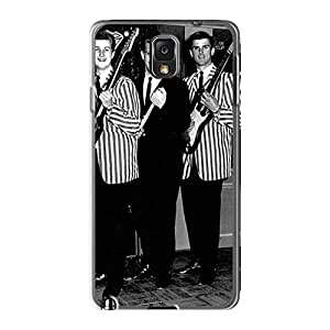 AlissaDubois Samsung Galaxy Note3 Anti-Scratch Cell-phone Hard Cover Provide Private Custom HD Rolling Stones Skin [CXT10681NHtb]