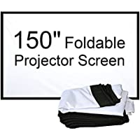 NewPal foldable projection screen 16:9 4:3 100, 120 150 projection screen